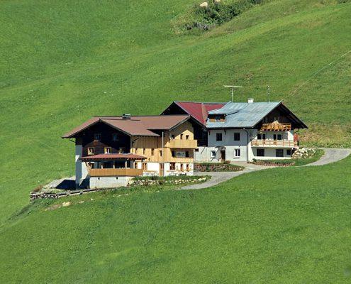 Ansicht Wildentalhütte