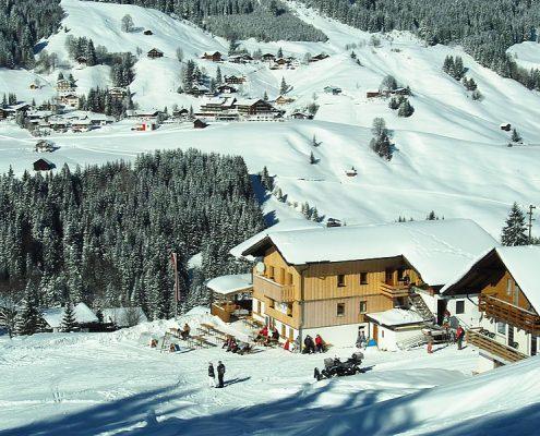 Skihütte Kleinwalsertal
