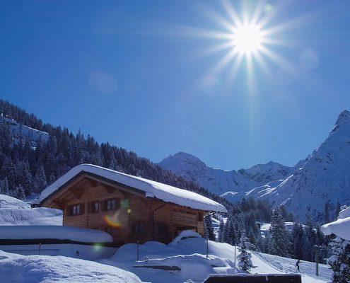 Winter im Kleinwalsertal
